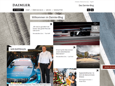 Corporate Blogging - Daimler