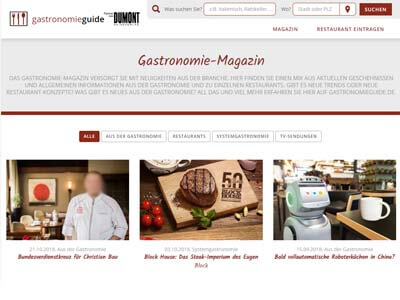 Corporate Blogging - GastroMagazin
