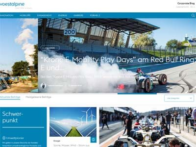 Corporate Blogging - Voestalpine