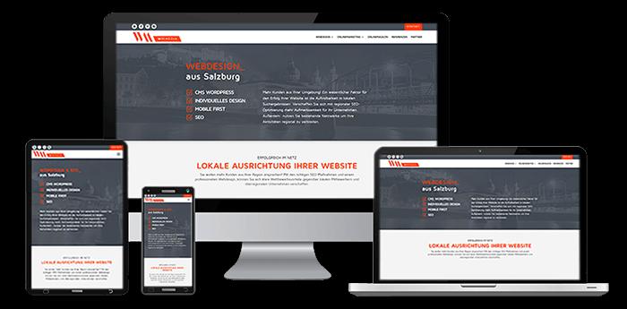 Wir sind eine Agentur für Webdesign und erstellen für Sie eine Local SEO optimierte Website